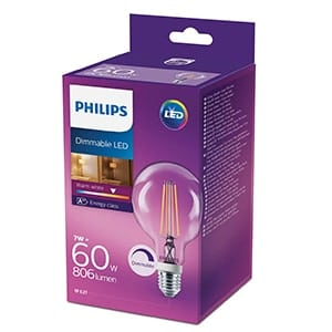 Philips dimmable LED 60W 806lm