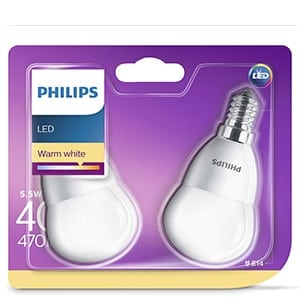 Philips LED warm white 40W 470lm