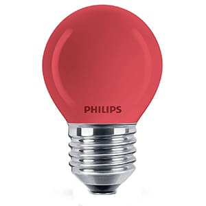Philips Partykogel 15W rood